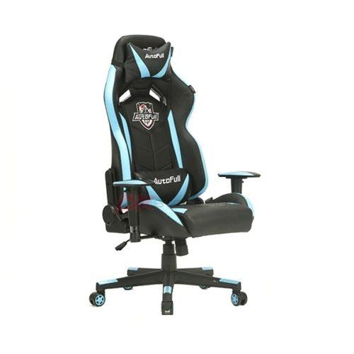 Компьютерное кресло AutoFull AF/003QJ/PU - цвет Черный/Синий