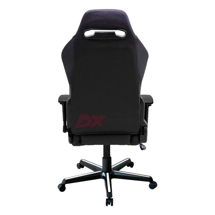 Компьютерное кресло DXRacer OH/DM61/NWB - Черное с Белыми и Синими вставками