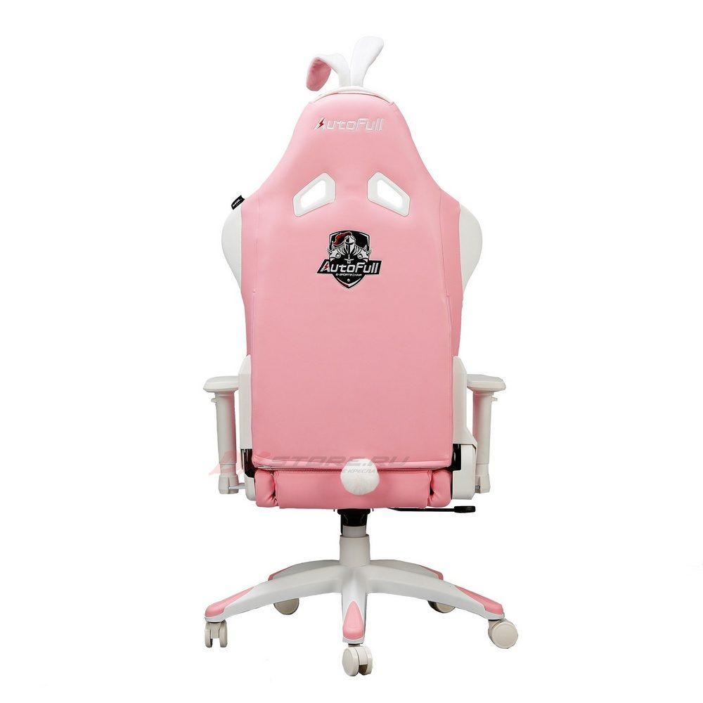 Компьютерное кресло AutoFull Pink Bunny - Фото 3