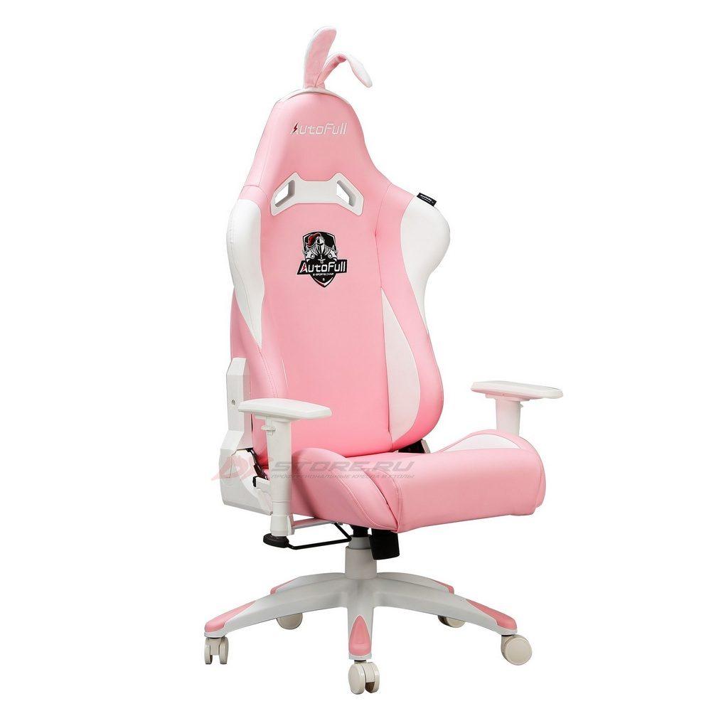 Компьютерное кресло AutoFull Pink Bunny - Фото 2