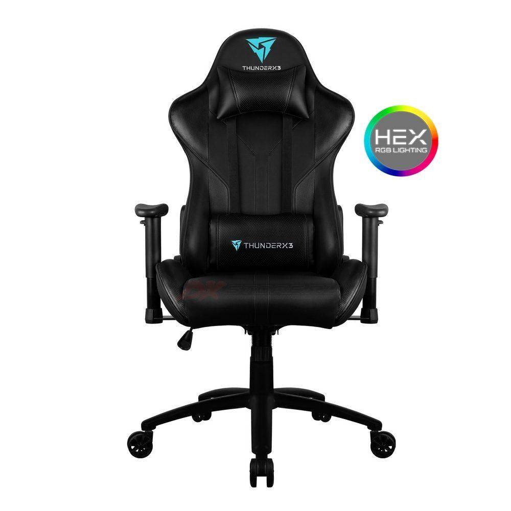 Компьютерное кресло ThunderX3 RC3-B - Подсветка 7 цветов