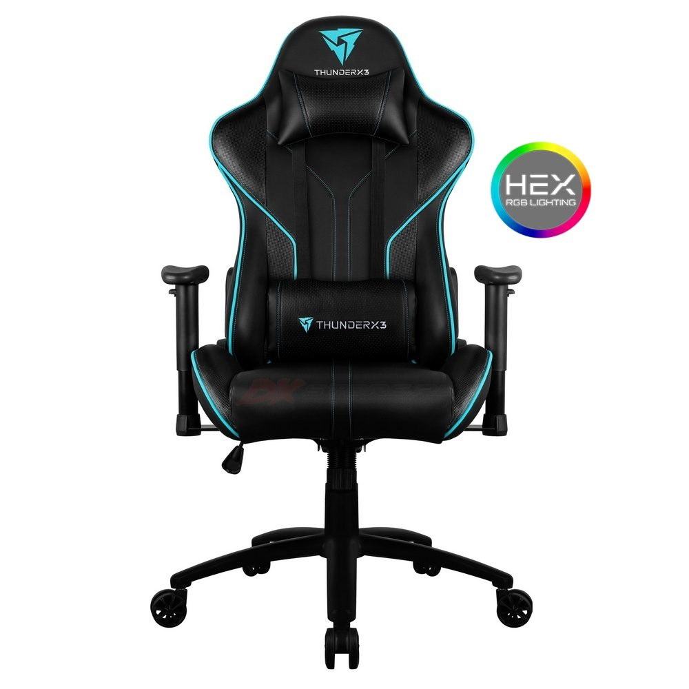 Компьютерное кресло ThunderX3 RC3-BC - Подсветка 7 цветов