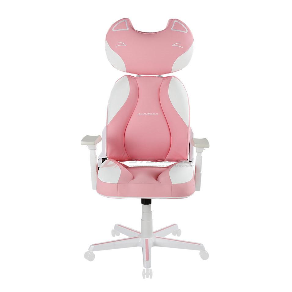 Компьютерное кресло DXRacer DC/JA002/PW Pink Kitty - Фото 1