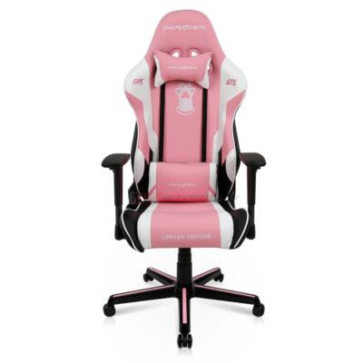 Компьютерное кресло DXRacer OH/RZ95/PWN Pink Paw Print - Фото 2