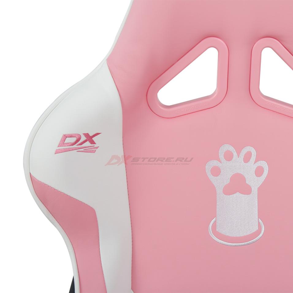 Компьютерное кресло DXRacer OH/RZ95/PWN Pink Paw Print - Фото 3