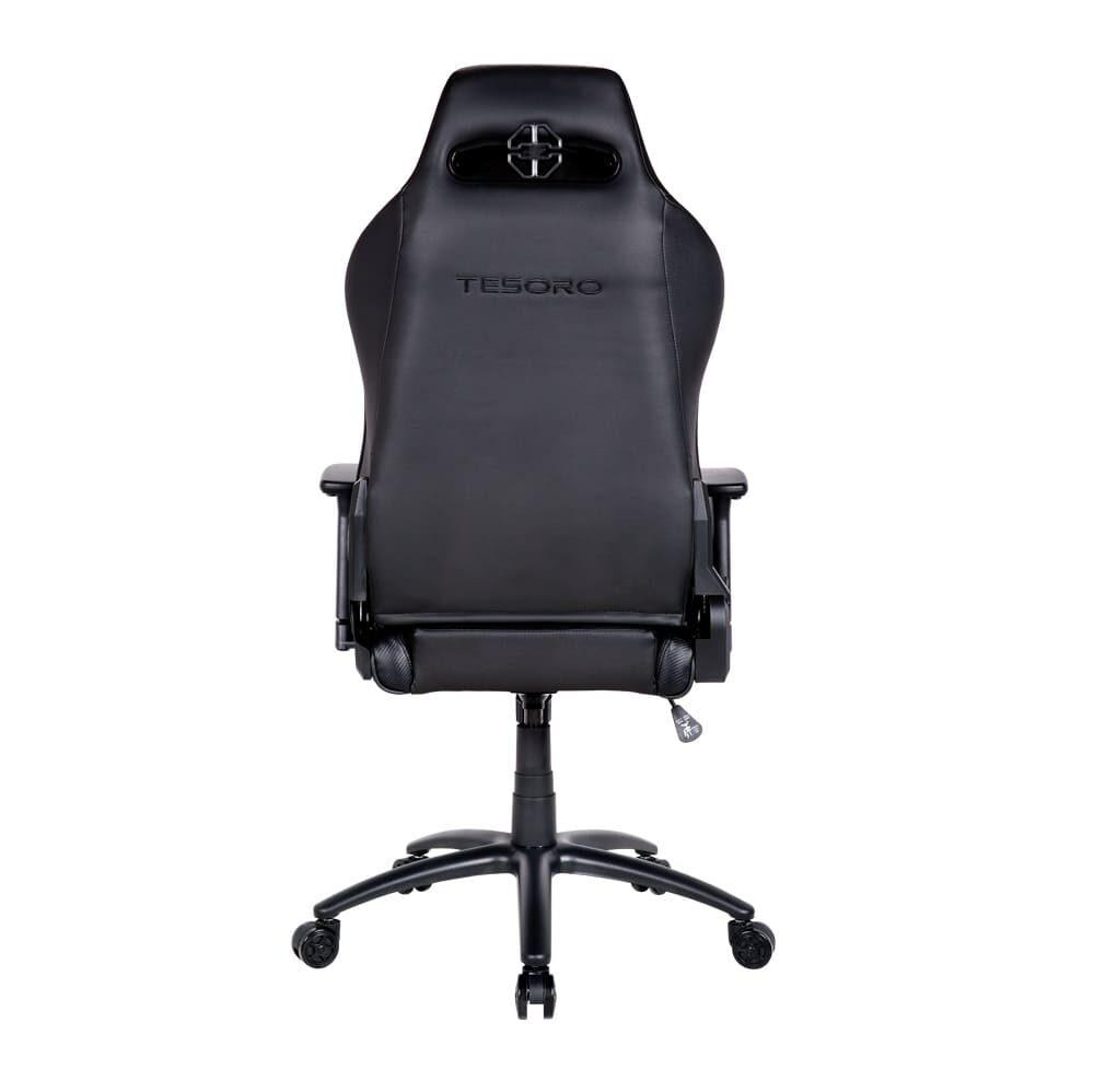 Игровое компьютерное кресло Tesoro Alphaeon S1 F715 Черный - Фото 2