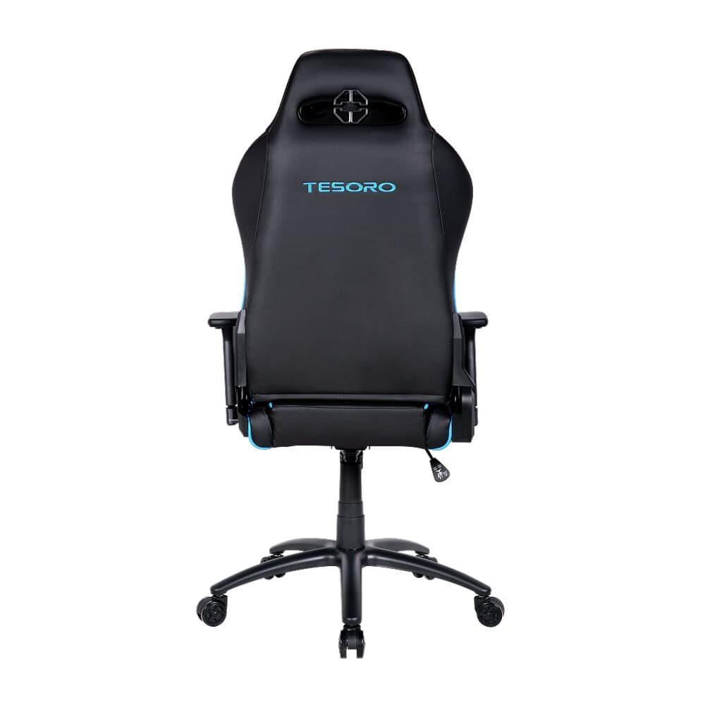 Игровое компьютерное кресло Tesoro Alphaeon S1 F715 Синий - Фото 3