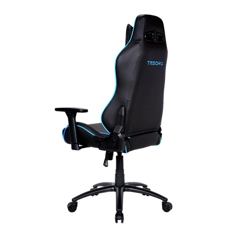 Игровое компьютерное кресло Tesoro Alphaeon S1 F715 Синий - Фото 5