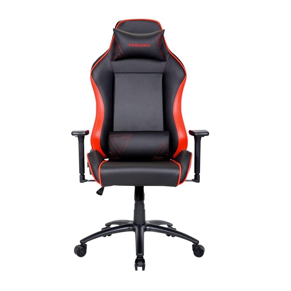 Игровое компьютерное кресло Tesoro Alphaeon S1 F715 Красный - Фото 1