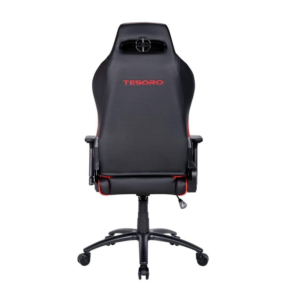 Игровое компьютерное кресло Tesoro Alphaeon S1 F715 Красный - Фото 3