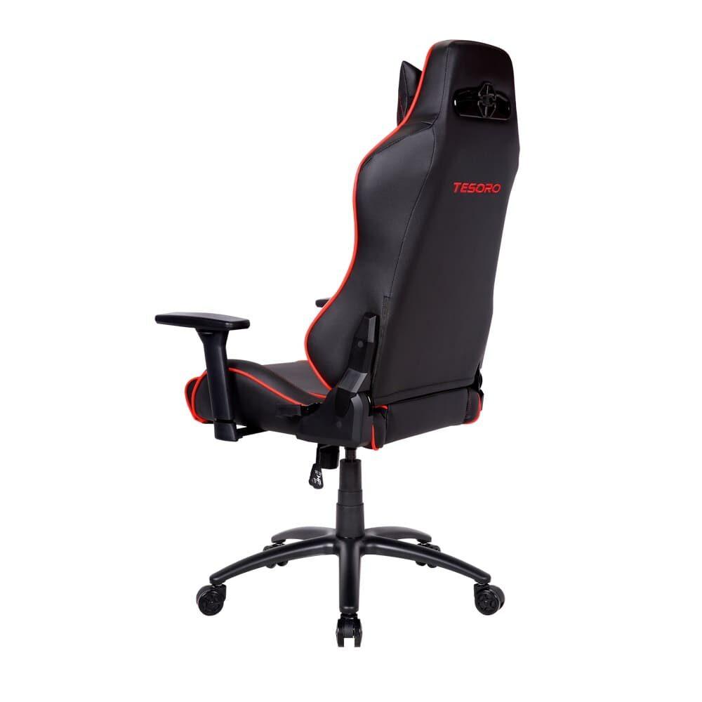 Игровое компьютерное кресло Tesoro Alphaeon S1 F715 Красный - Фото 4