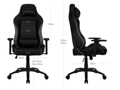 Игровое компьютерное кресло Tesoro Alphaeon S1 F715 - Размеры