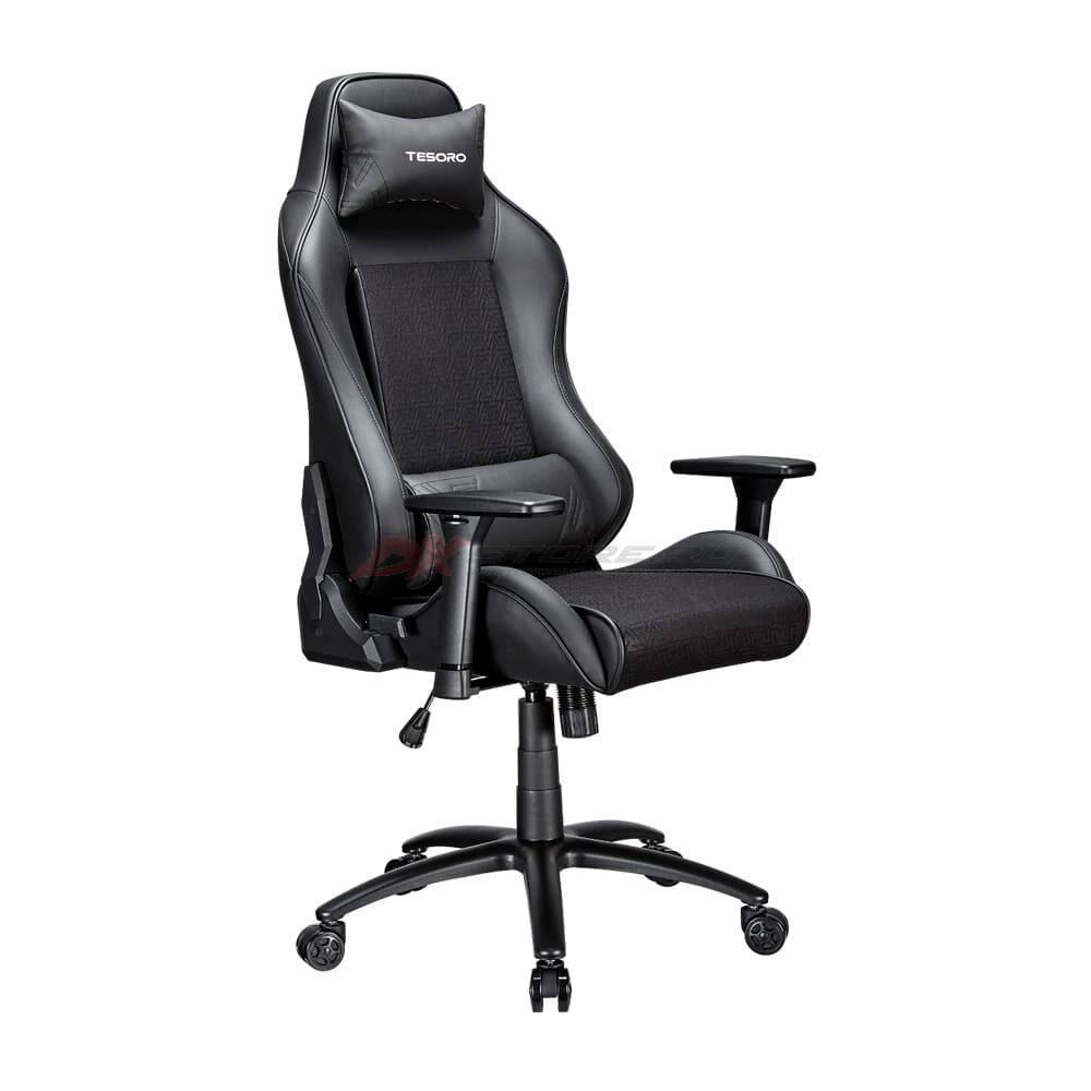 Игровое компьютерное кресло TESORO Alphaeon S2 Черный - Фото 2