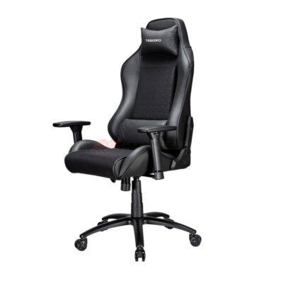 Игровое компьютерное кресло TESORO Alphaeon S2 Черный - Фото 4