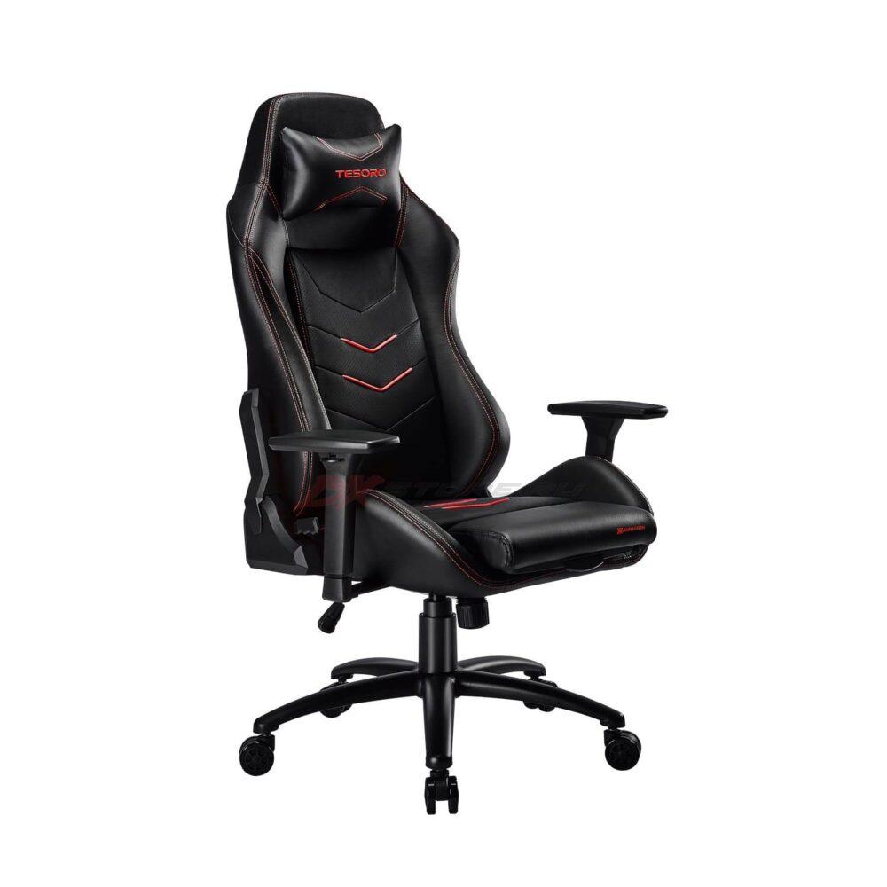 Игровое компьютерное кресло Tesoro Alphaeon S3 F720 Красный - Фото 3