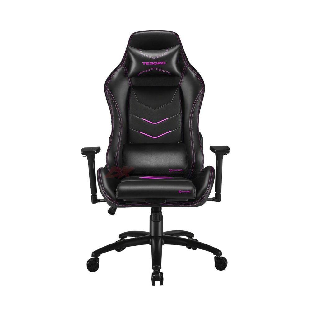 Игровое компьютерное кресло Tesoro Alphaeon S3 F720 Розовый - Фото 1