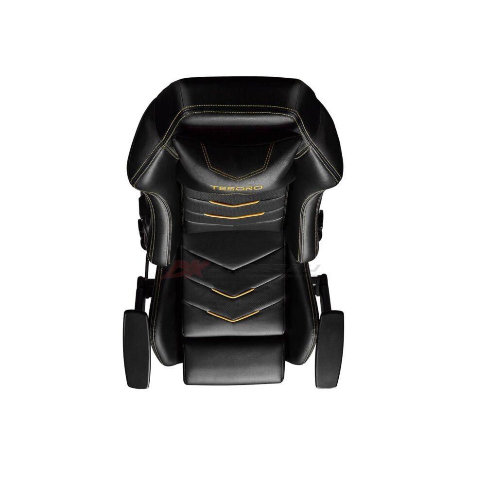 Игровое компьютерное кресло Tesoro Alphaeon S3 F720 Жёлтый - Фото 4