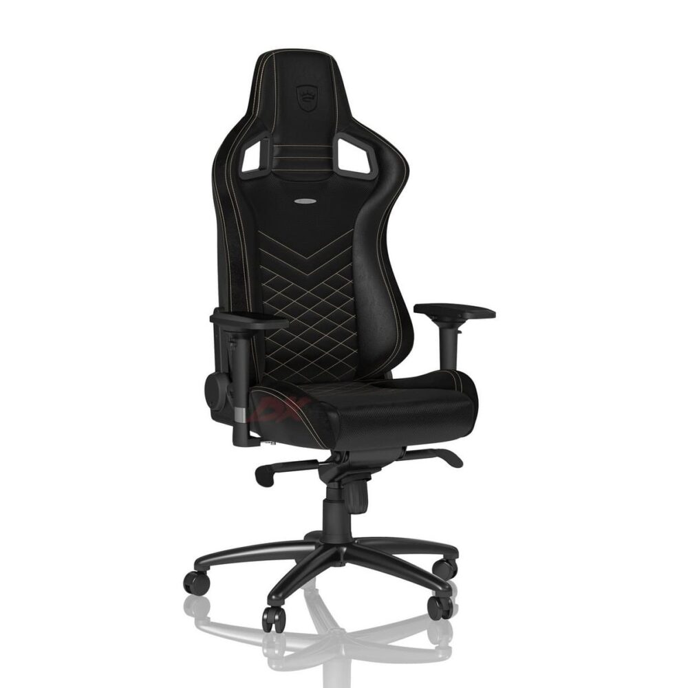Игровое кресло noblechairs EPIC Black/Gold - Фото 3
