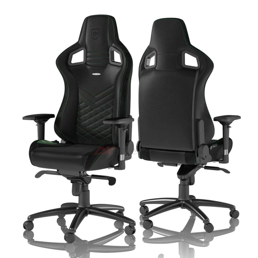Игровое кресло noblechairs EPIC Black/Green - Фото 1