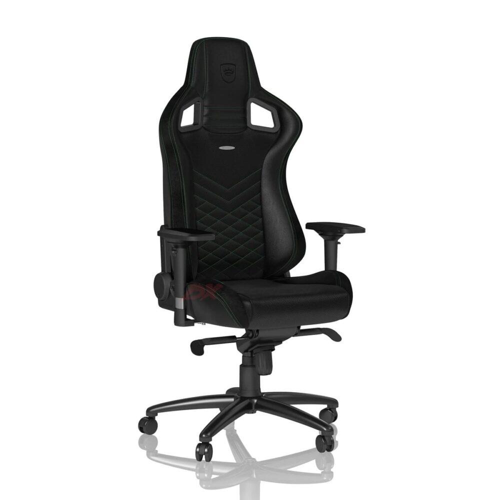 Игровое кресло noblechairs EPIC Black/Green - Фото 2