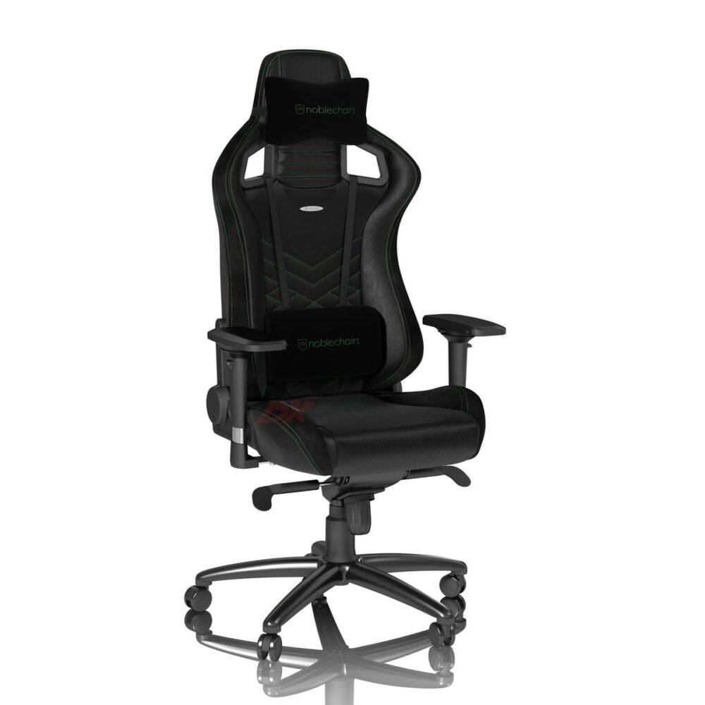 Игровое кресло noblechairs EPIC Black/Green - Фото 4