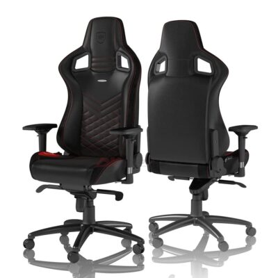 Игровое кресло noblechairs EPIC Black/Red - Фото 1