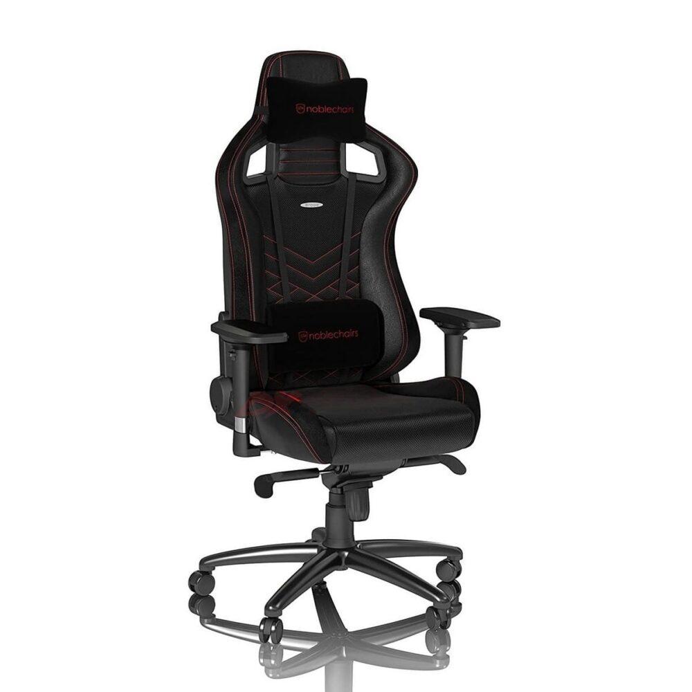 Игровое кресло noblechairs EPIC Black/Red - Фото 2