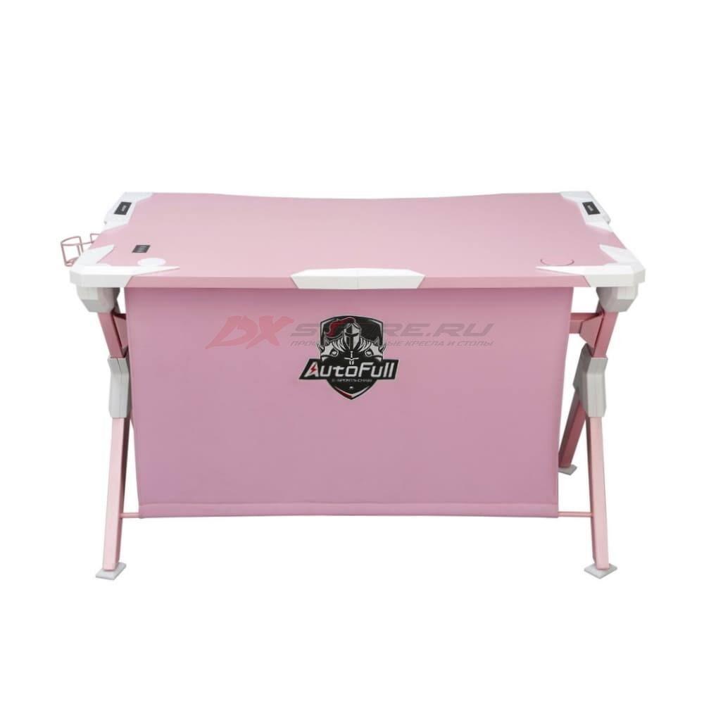 Игровой компьютерный стол AutoFull Розовый - Фото 2