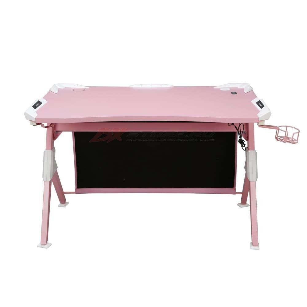 Игровой компьютерный стол AutoFull Розовый - Фото 3
