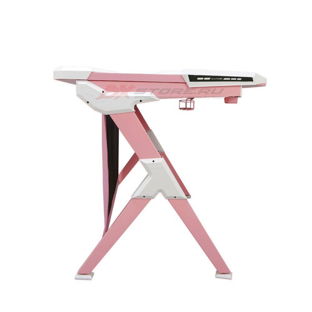 Игровой компьютерный стол AutoFull Розовый - Фото 4