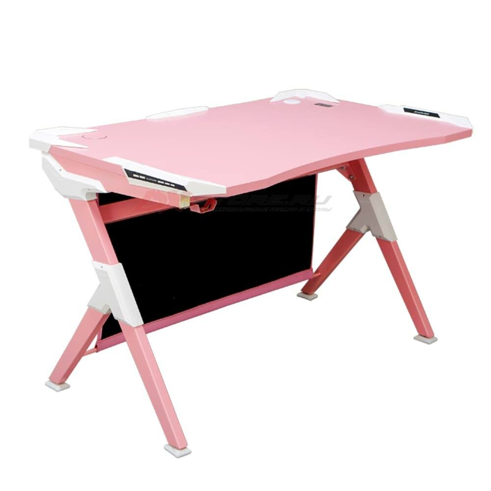 Игровой компьютерный стол AutoFull Розовый - Фото 5