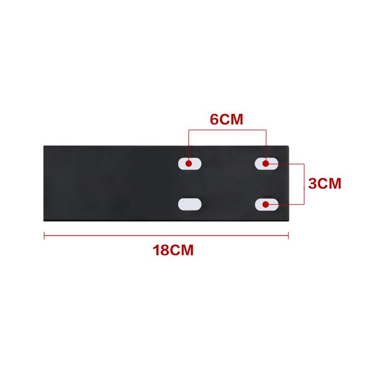 Комплект подлокотников 4D для кресел DXRacer - Размеры