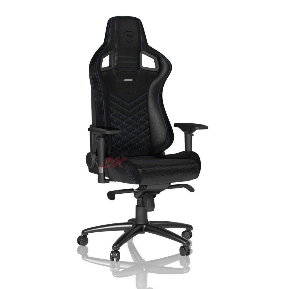 Игровое кресло noblechairs EPIC Black/Blue - Фото 3