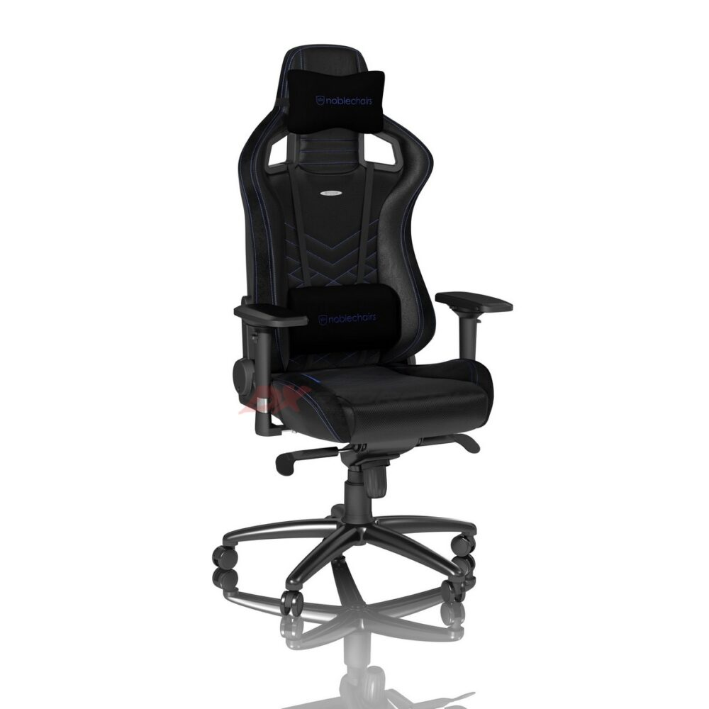 Игровое кресло noblechairs EPIC Black/Blue - Фото 2