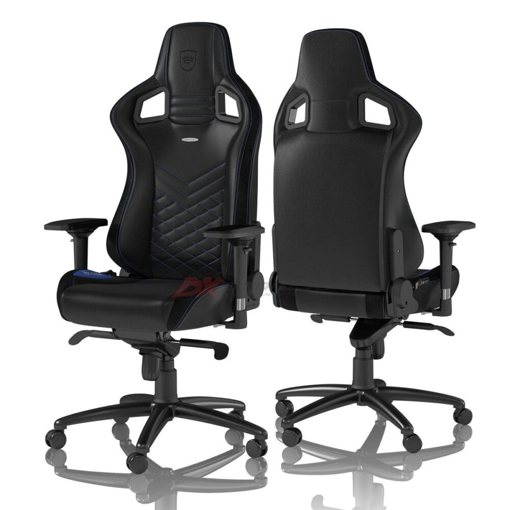 Игровое кресло noblechairs EPIC Black/Blue - Фото 1