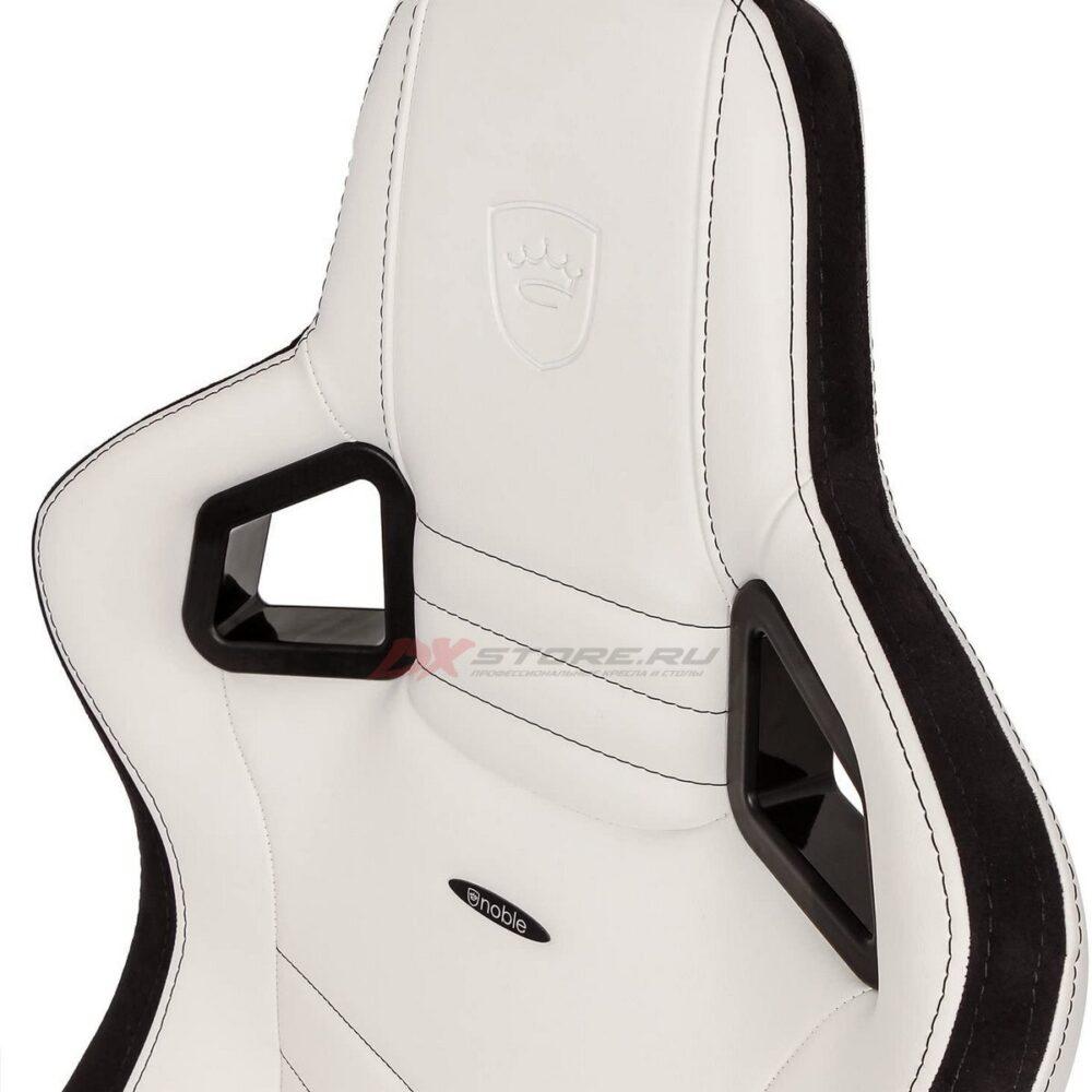 Игровое кресло noblechairs EPIC White/Black - Фото 5