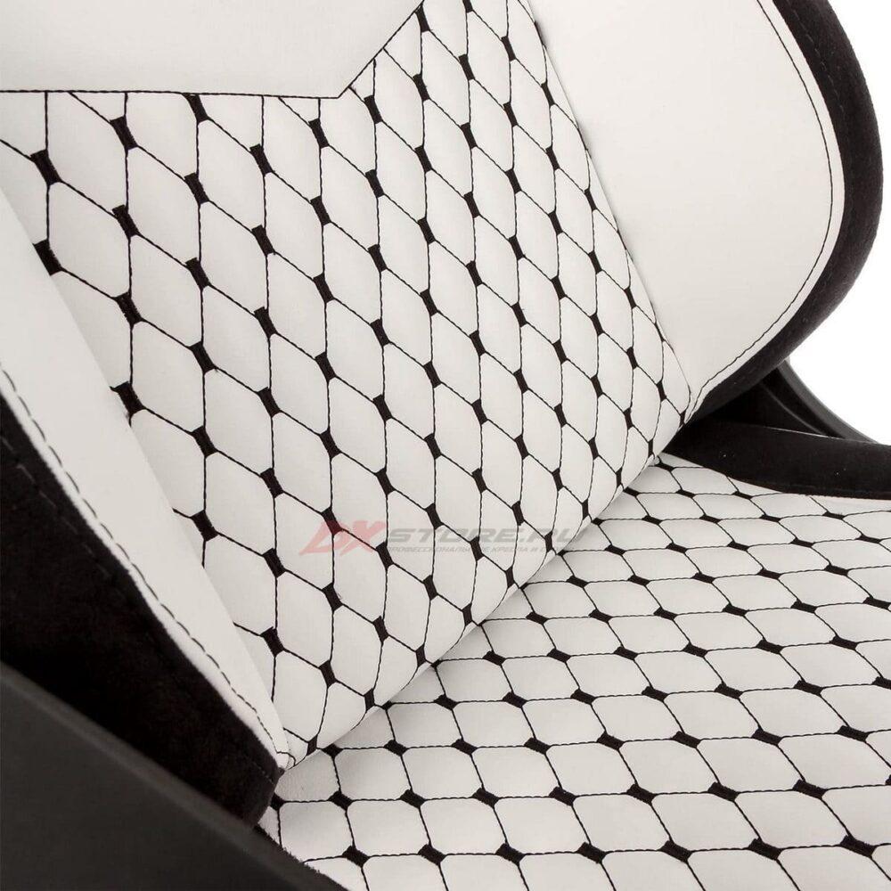 Игровое кресло noblechairs EPIC White/Black - Фото 6