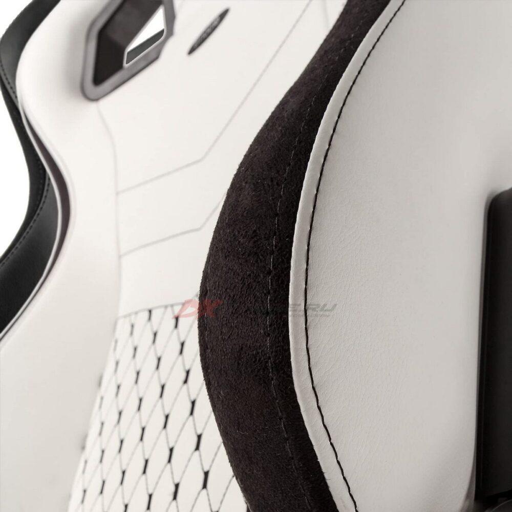 Игровое кресло noblechairs EPIC White/Black - Фото 7