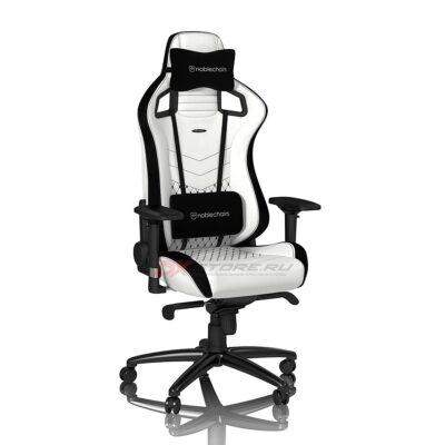 Игровое кресло noblechairs EPIC White/Black - Фото 2