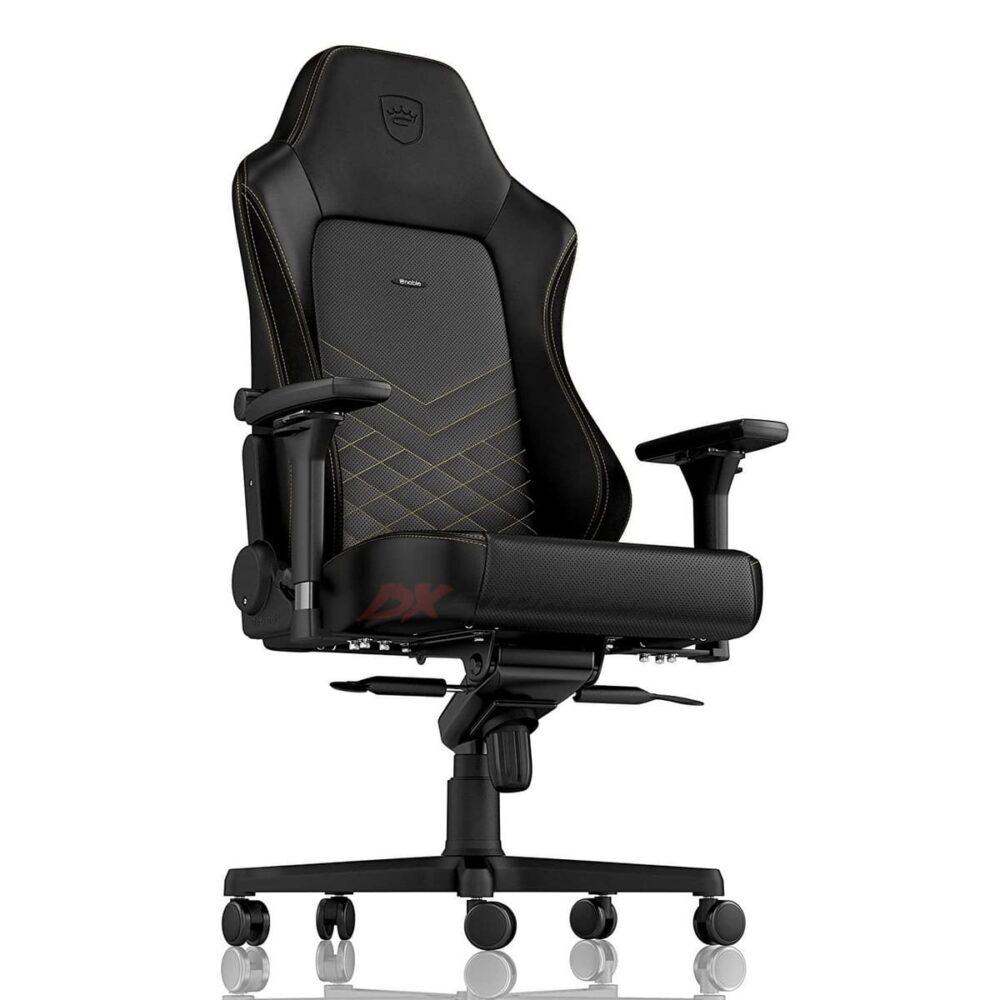 Игровое кресло noblechairs HERO Black/Gold - Фото 4
