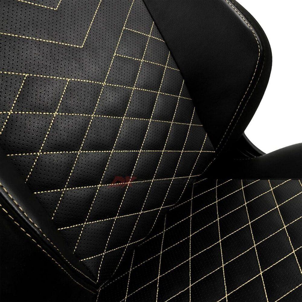 Игровое кресло noblechairs HERO Black/Gold - Фото 6
